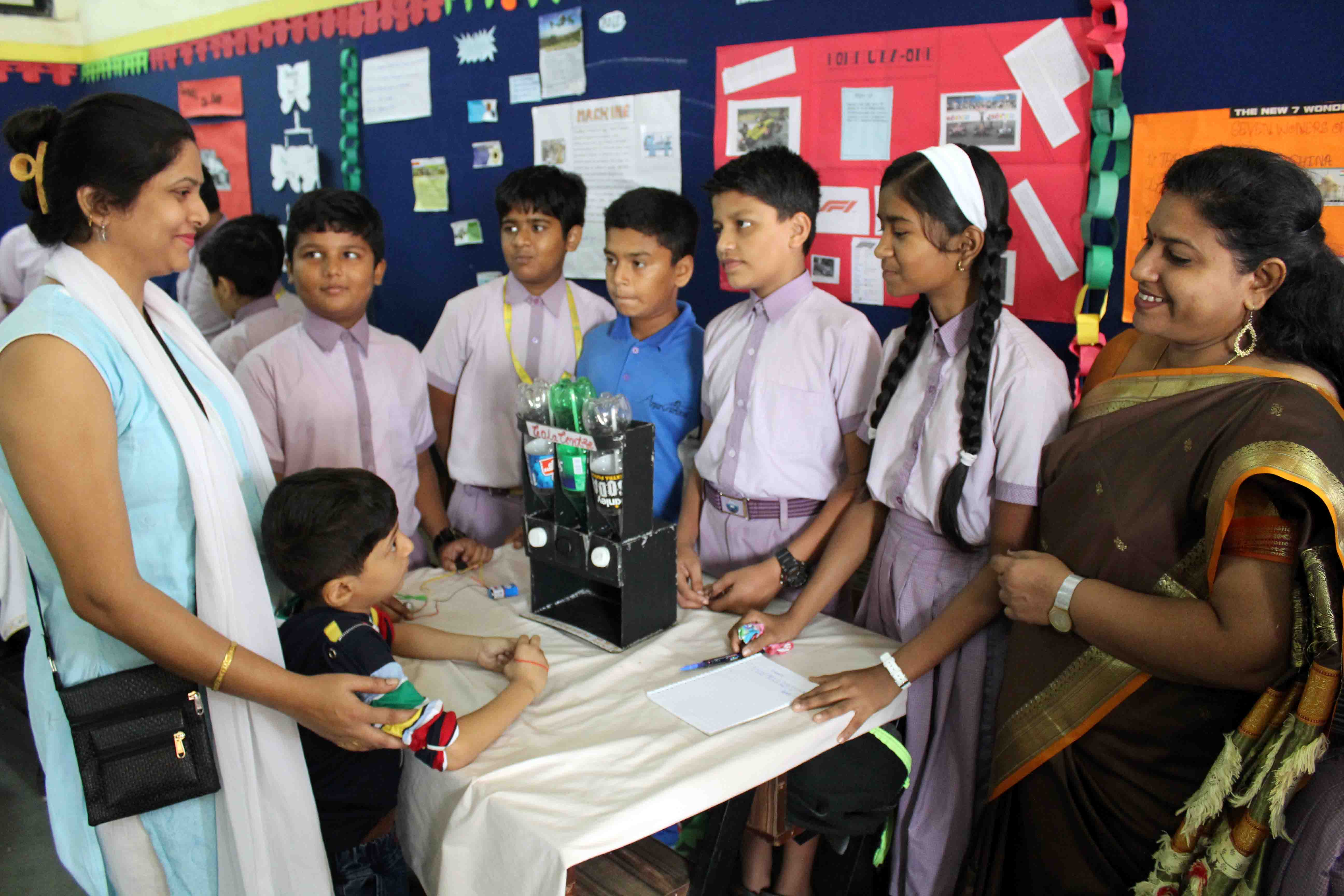 Art, craft and science festival in Arya Gurukul School
