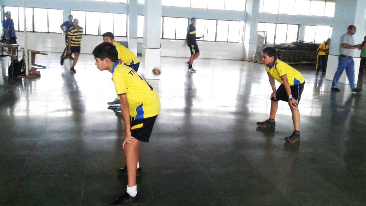 Arya Gurukul School Sports - Volleyball