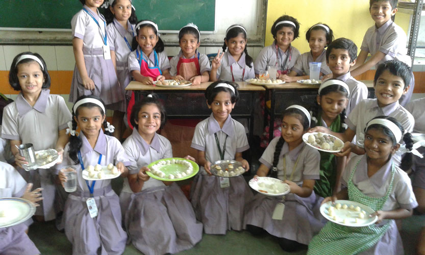 Cooking Activity at Arya Gurukul school