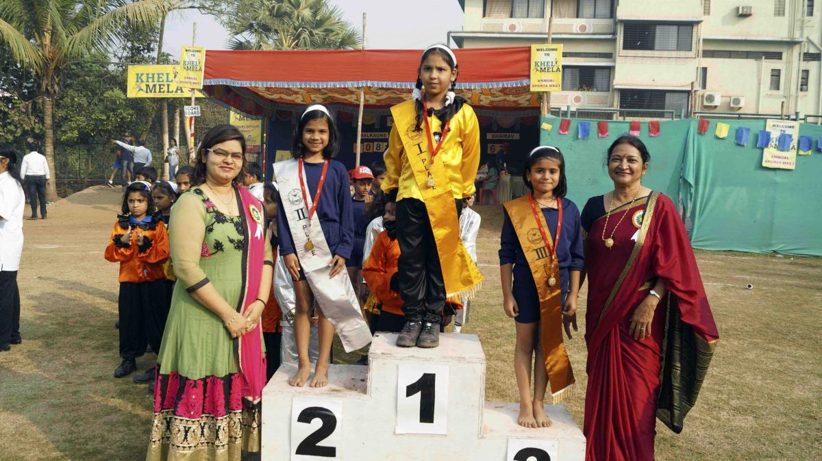 Arya Gurukul School Khel Mela - Sports Winners