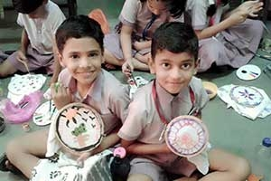 Fabric Painting at Arya Gurukul School