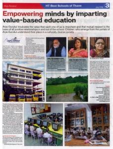 Arya Gurukul - Value Based Education - News