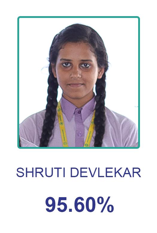 Arya Gurukul School Toppers - Rashmikiran
